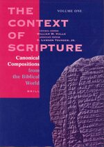 Cover The Context of Scripture (3 vols.)