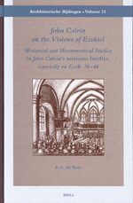Cover John Calvin on the Visions of Ezekiel