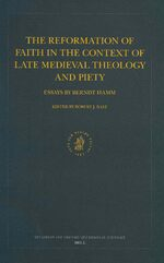 Cover Dutch Review of Church History, Volume 85: The Formation of Clerical and Confessional Identities in Early Modern Europe