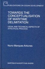 Towards the Conceptualisation of Maritime Delimitation