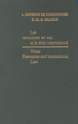 Cover Water Resources and International Law / Les ressources en eau et le droit international