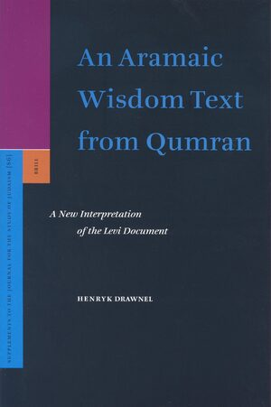 Cover An Aramaic Wisdom Text from Qumran