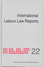 International Labour Law Reports, Volume 22
