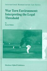 Cover International Law and Changing Perceptions of Security