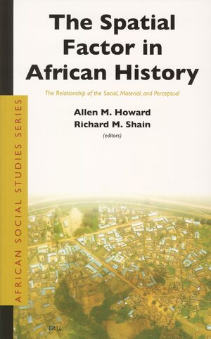 Cover The Spatial Factor in African History