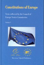 Constitutions of Europe (2 vols.)
