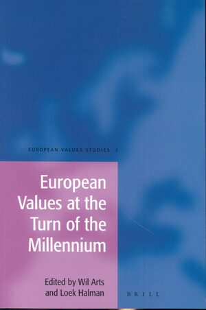 Cover European Values at the Turn of the Millennium