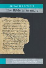 Cover The Bible in Aramaic, Vol. 1