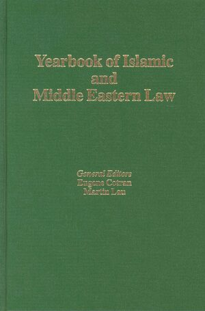 Cover Yearbook of Islamic and Middle Eastern Law, Volume 9 (2002-2003)