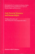Anti-Terrorist Measures and Human Rights