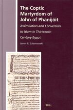Cover The Coptic Martyrdom of John of Phanijōit