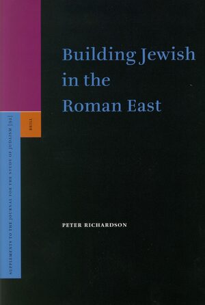 Cover Building Jewish in the Roman East