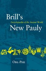 Cover Brill's New Pauly, Antiquity, Volume 10 (Obl-Phe)