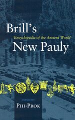 Cover Brill's New Pauly, Antiquity, Volume 11 (Phi-Prok)