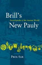 Cover Brill's New Pauly, Antiquity, Volume 12 (Prol-Sar)