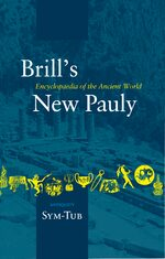 Cover Brill's New Pauly, Antiquity, Volume 14 (Sym-Tub)