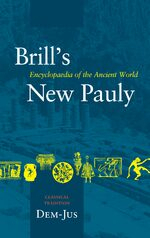 Cover Brill's New Pauly, Classical Tradition, volume II (Dem-Ius)