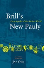 Cover Brill's New Pauly, Classical Tradition, Volume III (Jap-Ode)