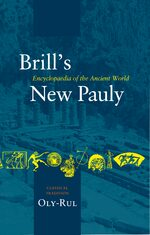 Cover Brill's New Pauly, Classical Tradition, Volume IV (Oly-Rul)