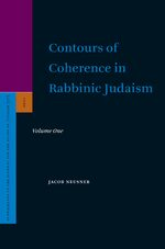 Cover Contours of Coherence in Rabbinic Judaism (2 vols)
