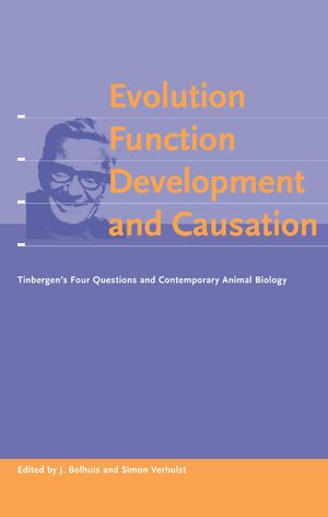 Cover Evolution, Function, Development and Causation