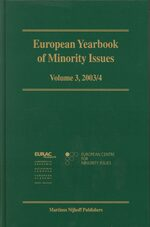 European Yearbook of Minority Issues, Volume 3 (2003/2004)
