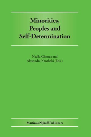 Minorities, Peoples and Self-Determination
