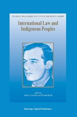 International Law and Indigenous Peoples