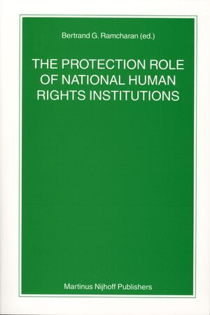 Cover The Protection Role of National Human Rights Institutions