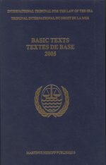 Cover Yearbook International Tribunal for the Law of the Sea, Volume 6 (2002)