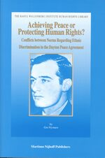 Cover Achieving Peace or Protecting Human Rights?