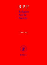 Cover Religion Past and Present, Volume 6 (Hea-Jog)