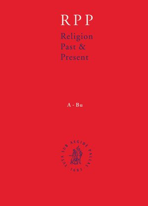 Cover Religion Past and Present, Volume 10 (Pet-Ref)