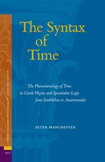 Cover The Syntax of Time