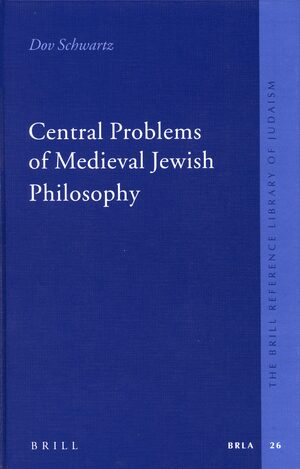 Cover Central Problems of Medieval Jewish Philosophy