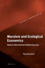 Cover Marxism and Ecological Economics