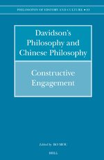 Cover Searle's Philosophy and Chinese Philosophy