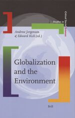 Cover Globalization and the Environment