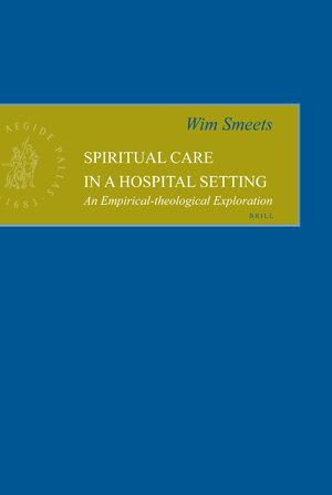 Cover Spiritual Care in a Hospital Setting