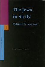 Cover The Jews in Sicily, Volume 8 (1490-1497)