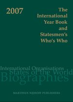 Cover The International Year Book and Statesmen's Who's Who 2007