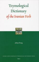 Cover Etymological Dictionary of the Iranian Verb