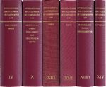 Cover International Encyclopedia of Comparative Law, Volume XIV