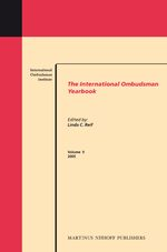 Cover The International Ombudsman Yearbook, Volume 9 (2005)