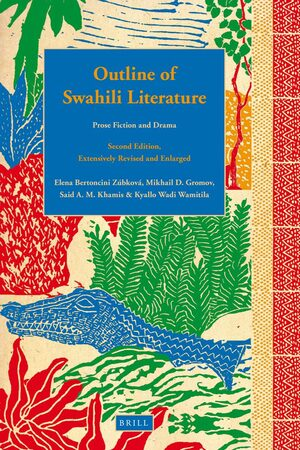 Cover Outline of Swahili Literature