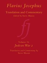 Cover Flavius Josephus: Translation and Commentary, Volume 1B: Judean War 2