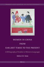 Cover Women in China from Earliest Times to the Present