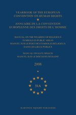 Cover Yearbook of the European Convention on Human Rights/Annuaire de la convention europeenne des droits de l'homme, Volume 51A (2008)