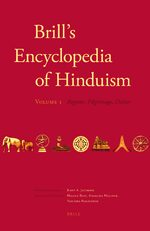 Cover Brill's Encyclopedia of Hinduism. Volume One