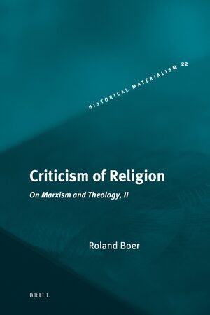Cover Criticism of Religion